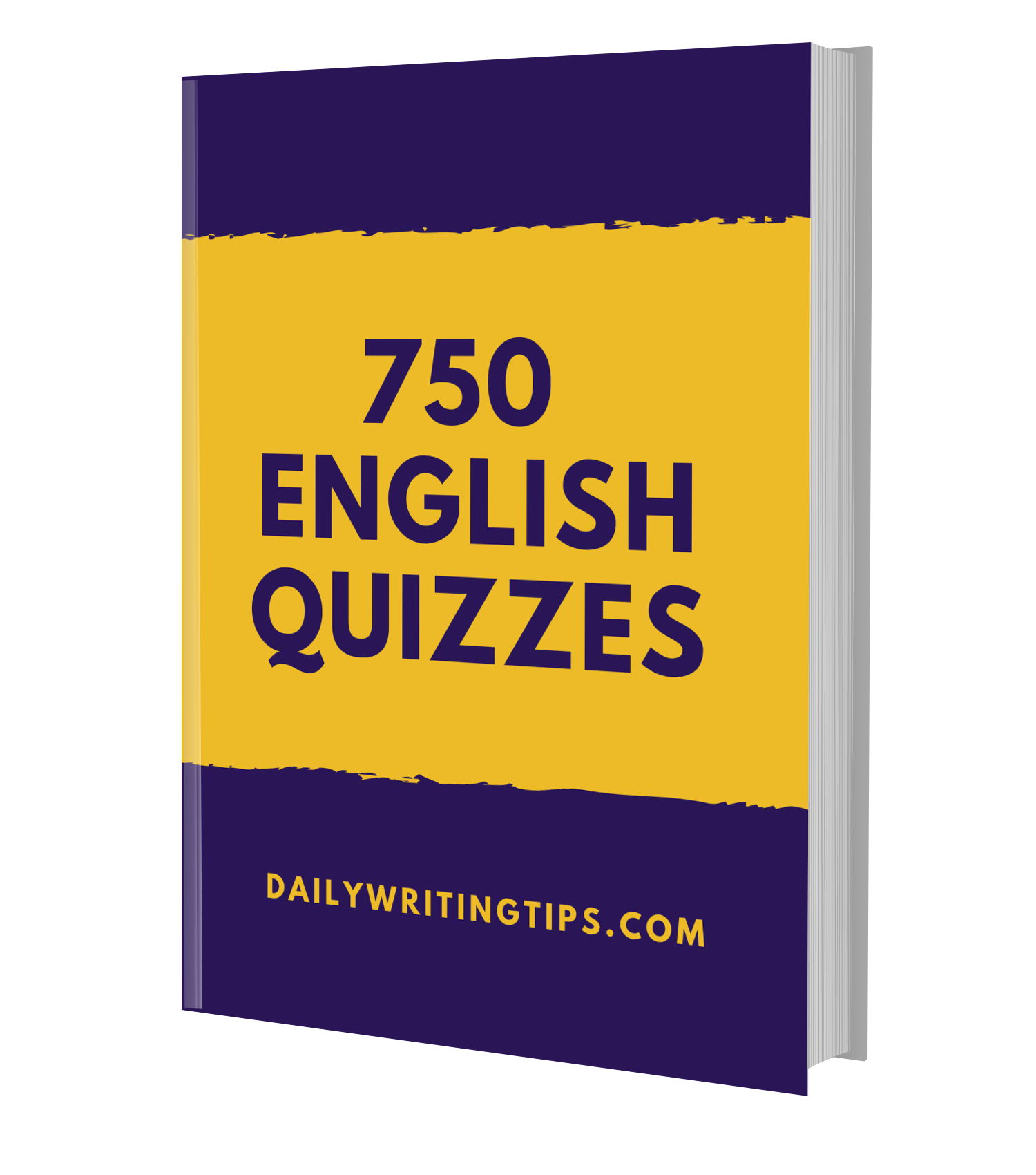 750 English Quizzes eBook - Daily Writing Tips