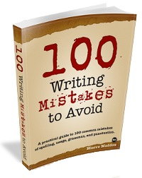 100 Writing Mistakes to Avoid Book