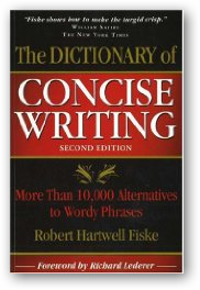 define concise writing