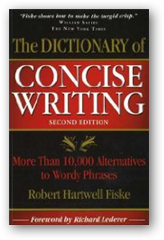 dictionary concise writing
