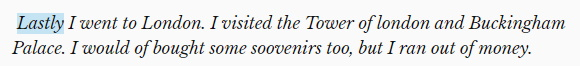Hemingway Editor không báo lỗi chính tả hay ngữ pháp.