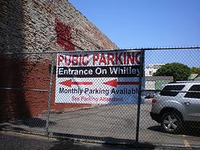 pubic parking typo