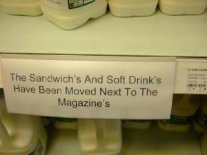 sandwich typo